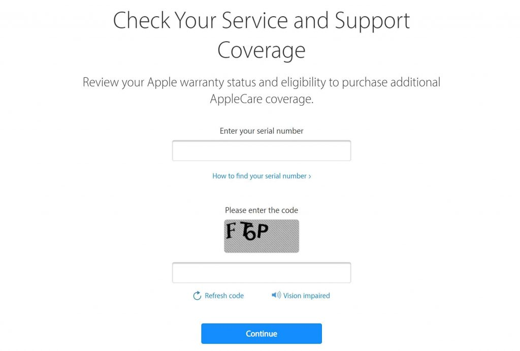 Check Warranty Apple Iphone