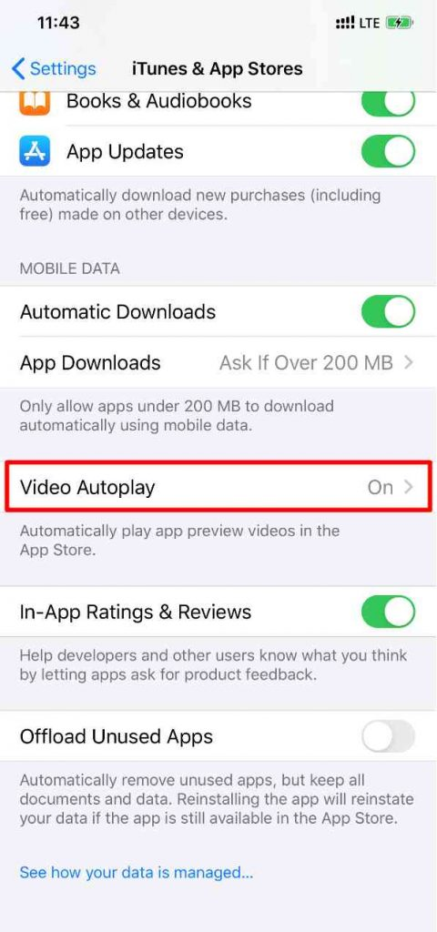 Iphone video autoplay