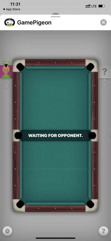 Gamepigeon 8 Ball Game