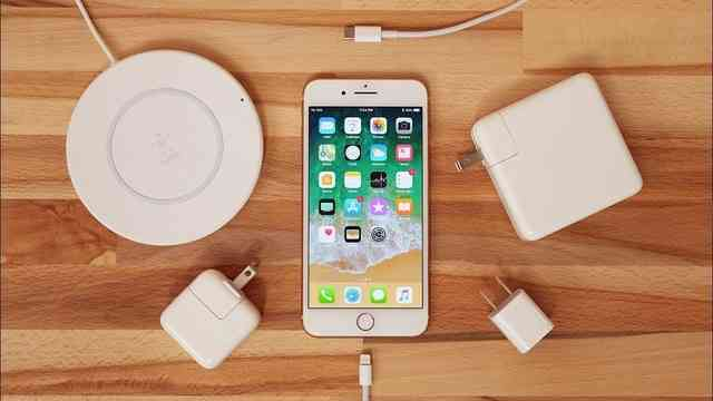 Iphone charge time
