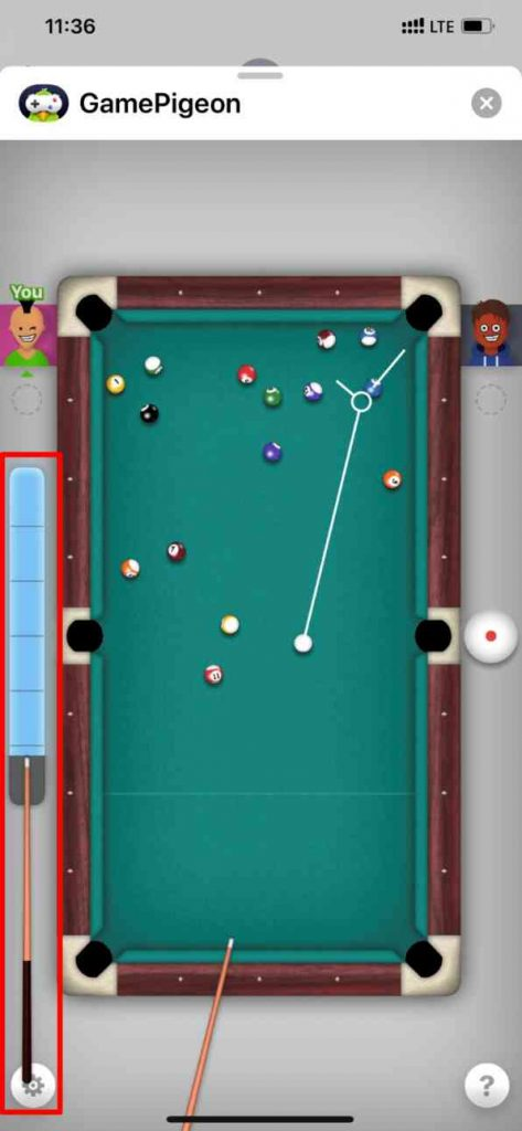 Play 8 Ball Gamepigeon